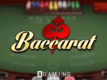 Baccarat by BGaming